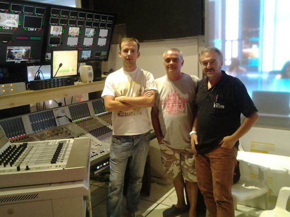 Brian Pannier Goes Wild for HARMAN Studer Vista 1 Digital Audio Console