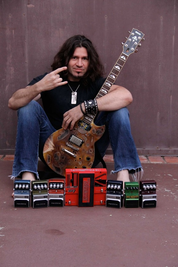 DigiTech® Pedals Deliver the Sonic Goods for Versatile Guitarist Phil X