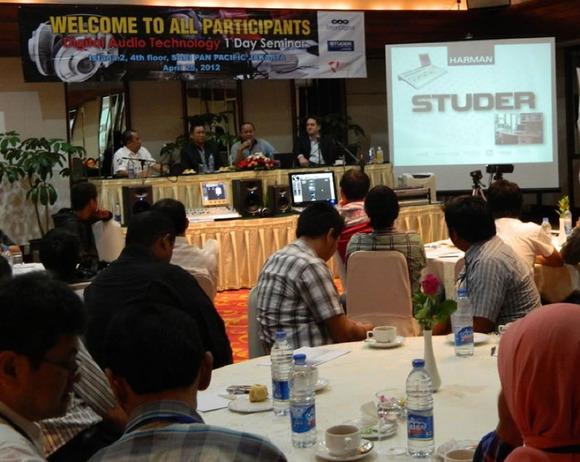 Studer Hosts Product Seminar in Jakarta