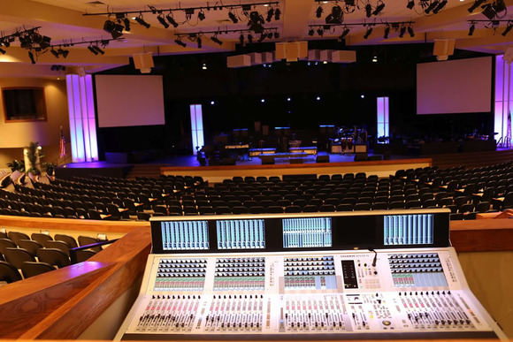 First Baptist Church at the Mall Expands Live Sound Capabilities with HARMAN's Studer Vista 5 M2 Console