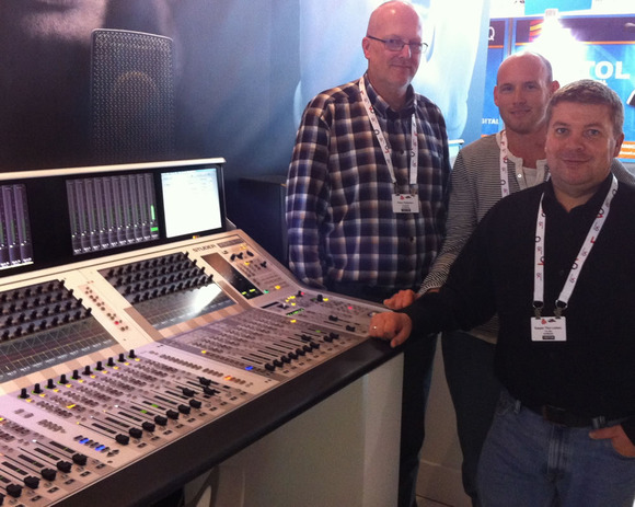 TV2 East of Denmark Expands its Horizons With HARMAN's Studer Vista 5 M2 Console