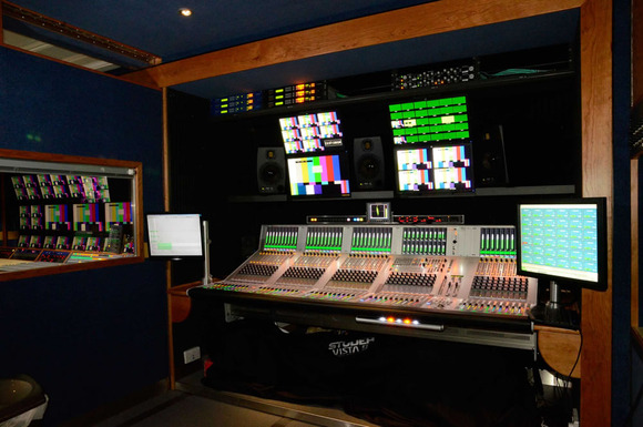 TVM's First 3G OB Truck Gets HARMAN's Studer Vista 9 Console