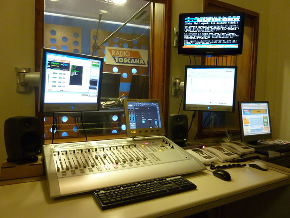 Leading Technologies SRL Equips Radio Toscana With Second HARMAN Studer OnAir 2500