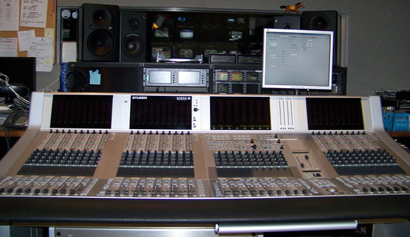 Studer Vista 8 Digital Console is a Winner by a Length with TVG
