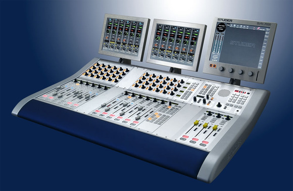 Studer Celebrates Sale Of 1,000th OnAir 3000 Digital Console