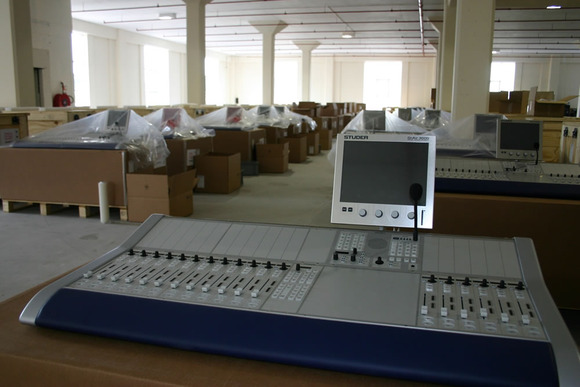 Egyptian Radio And TV Union Integrates Studer OnAir 3000 and Vista 8 Consoles For Growing Broadcast Capabilities