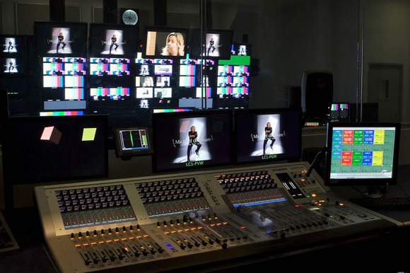 Two Studer Vista 5 Consoles For QVC's New Italian Shopping Channel