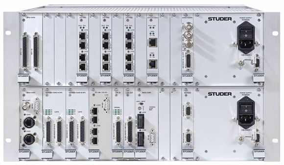 Studer Route 6000 Software Update Enables I/O Sharing