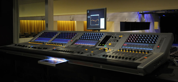 Square Brussels Gets Hip To Studer Consoles