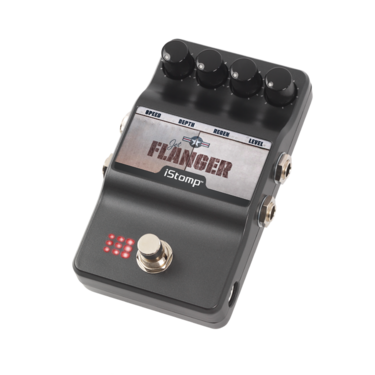 Jet Flanger with iStomp label
