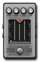 Spring tank on epedal