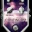 Continuum on tiny square