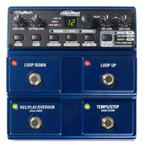 JamMan Stereo | DigiTech Guitar Effects