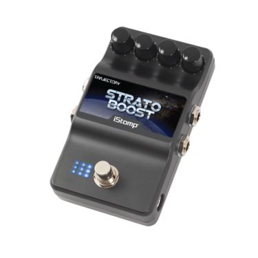 Strato Boost with iStomp label