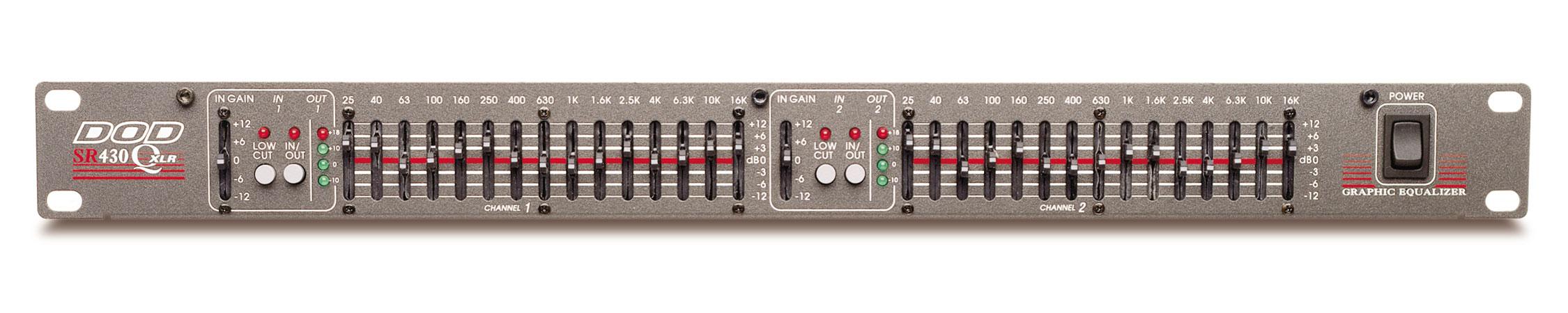 Sr430qxlr Dod 5 Band Equalizer Circuit Diagram Sr430 Tiny Square