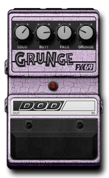 dod fx69 grunge digitech guitar effects. Black Bedroom Furniture Sets. Home Design Ideas