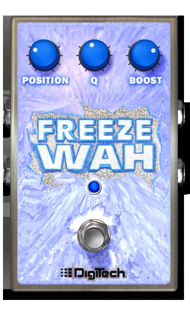 Freeze Wah | DigiTech Guitar Effects