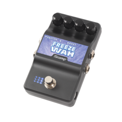 Freeze wah 3 4 label epedal
