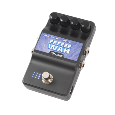 Freeze Wah with iStomp label
