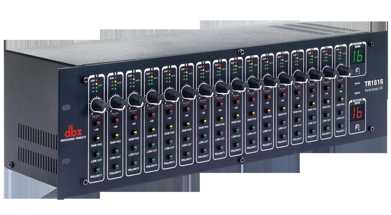 Tr1616 Dbx Professional Audio Microphone Preamplifier With Tlc251 16x16 Digital I O