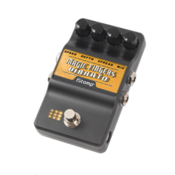 Magic fingers label epedal