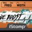 Toneboost label tiny square