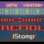 Snakecharmer label tiny square