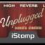 Unplugged label tiny square