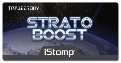 Stratoboost label epedal