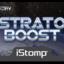 Stratoboost label tiny square