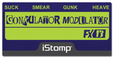 Gonkulator label epedal