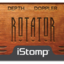 Rotator label tiny square