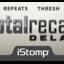 Totalrecall label tiny square