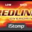 Redline label tiny square