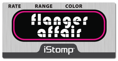 Flangeraffair label epedal