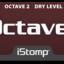 Octaver label tiny square
