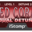 Istomp redcoral label tiny square
