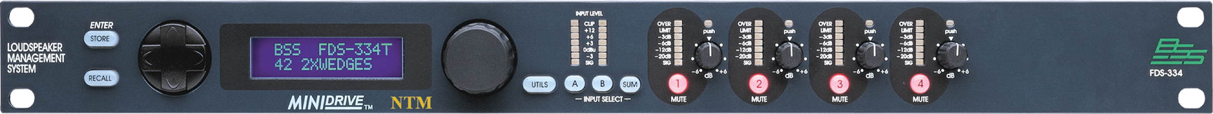FDS-334T | BSS Networked Audio Systems