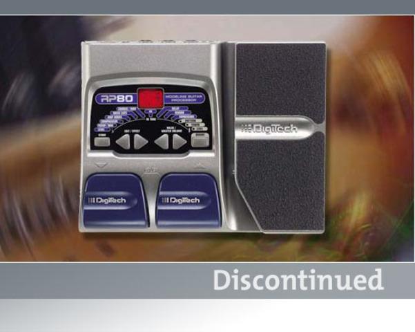 rp80 digitech guitar effects rh digitech com Digitech RP90 Digitech Pedals