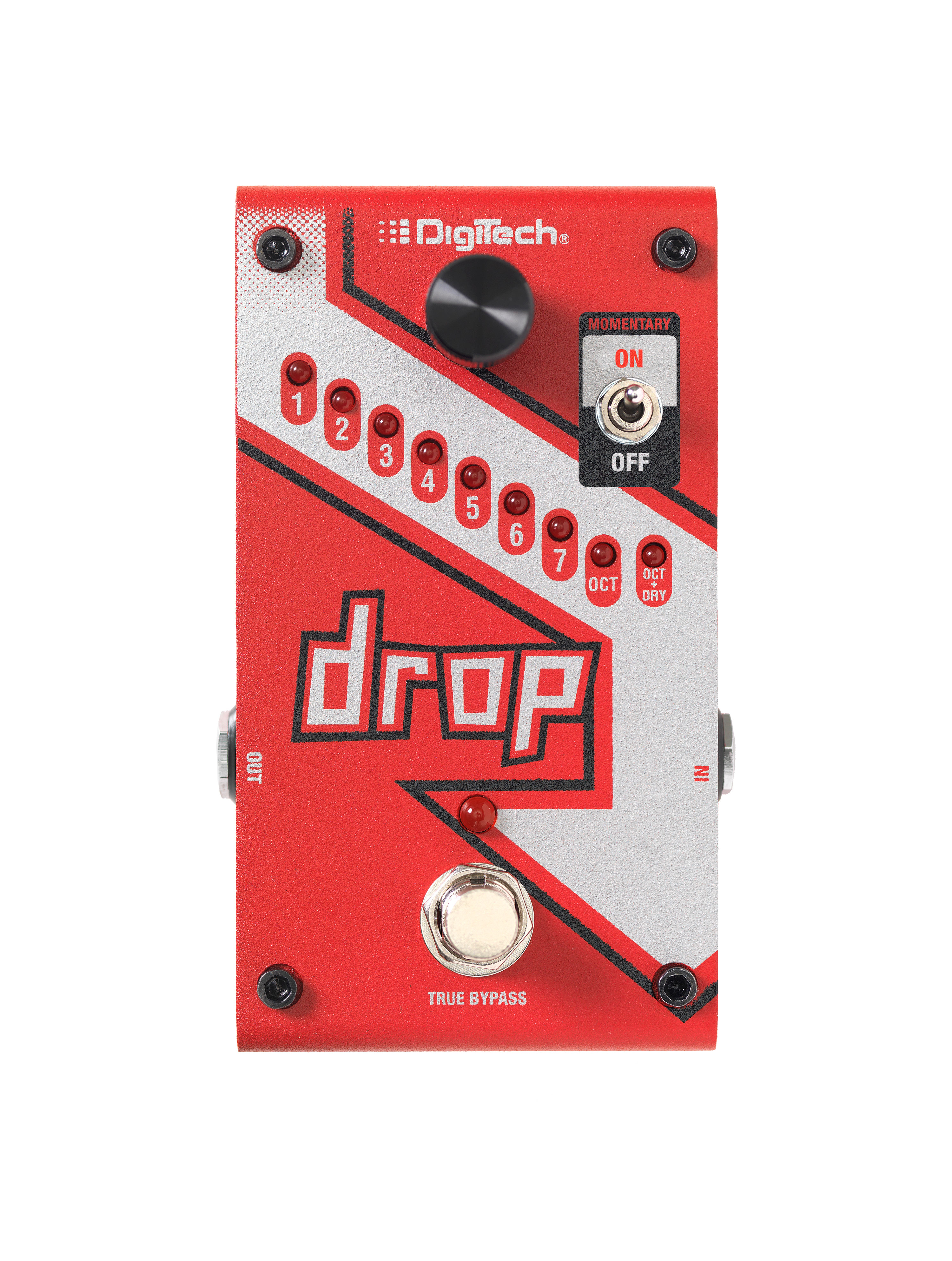 The Drop Digitech Guitar Effects Selector Switch Wiring Diagram Pedal Top Tiny Square