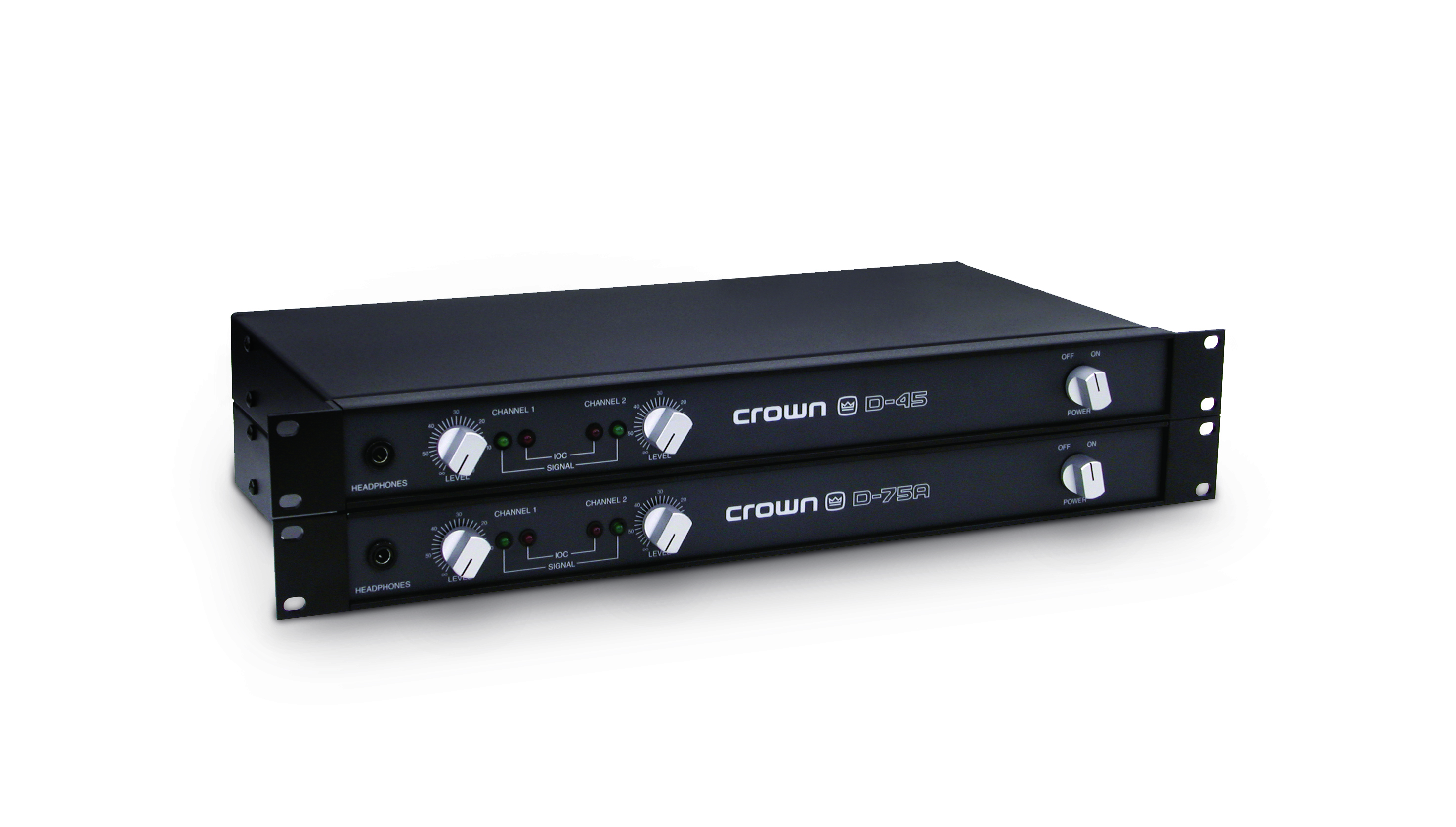 D 75a Crown Audio Professional Power Amplifiers 15 W Class B Amplifier Series Tiny Square
