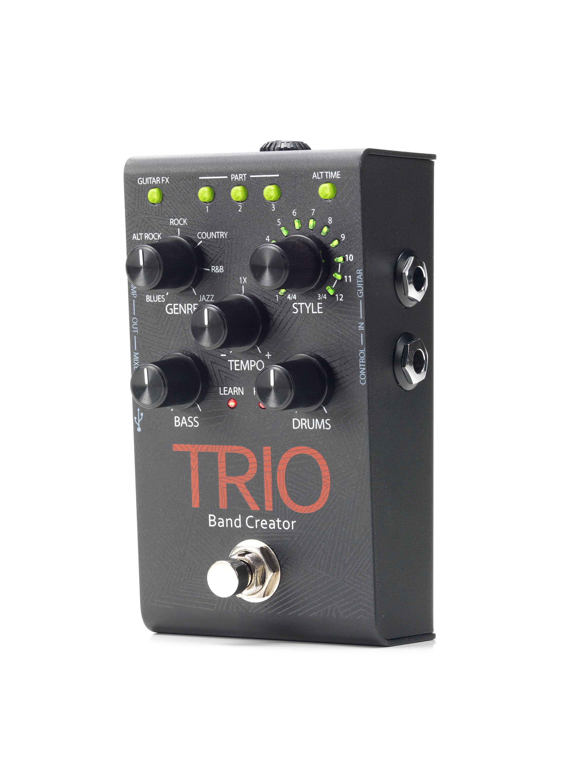 trio digitech guitar effects