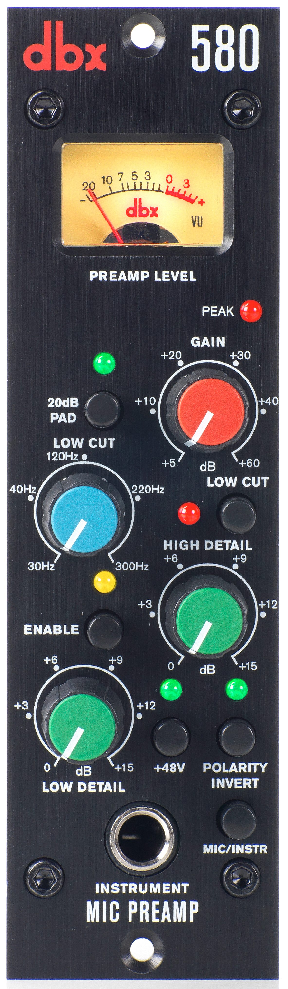580 Dbx Professional Audio Microphone Preamplifier Based Tlc251 Dbx580 Front Tiny Square