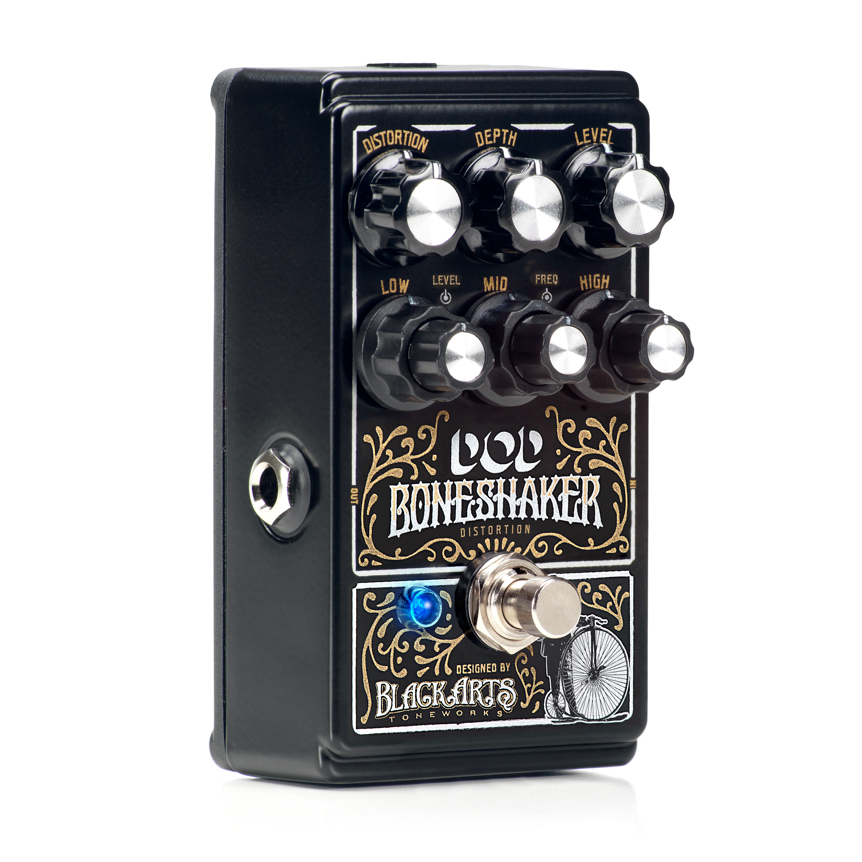Boneshaker Digitech Guitar Effects Circuit Diagram 3 Band Graphic Equalizer Distortion Pedal With Semi Parametric Eq
