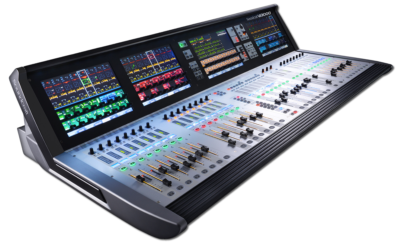 Vi3000 | Soundcraft - Professional Audio Mixers