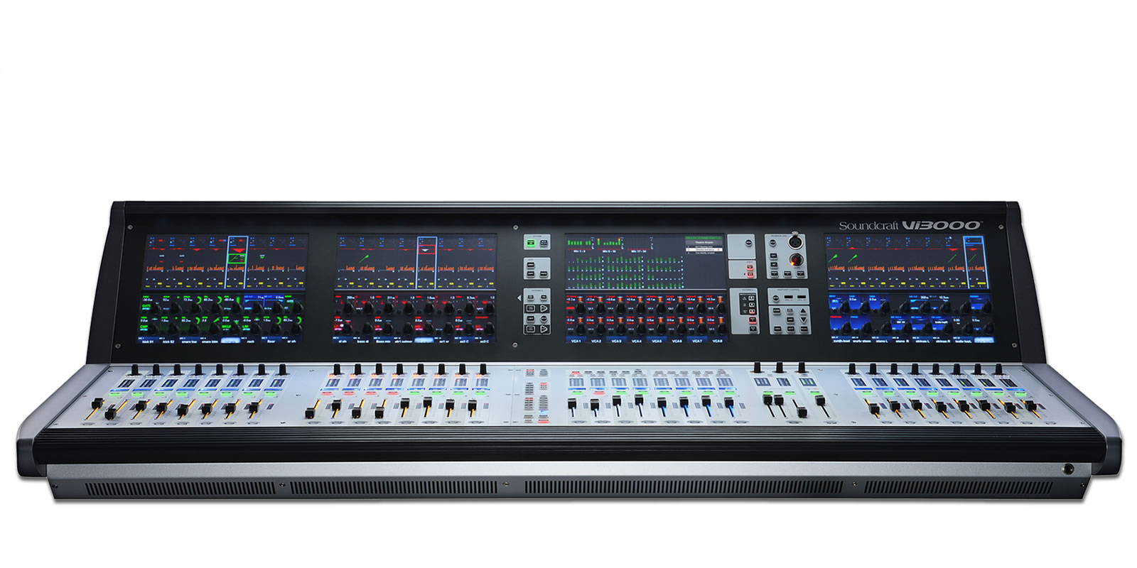 Vi3000 Soundcraft Professional Audio Mixers
