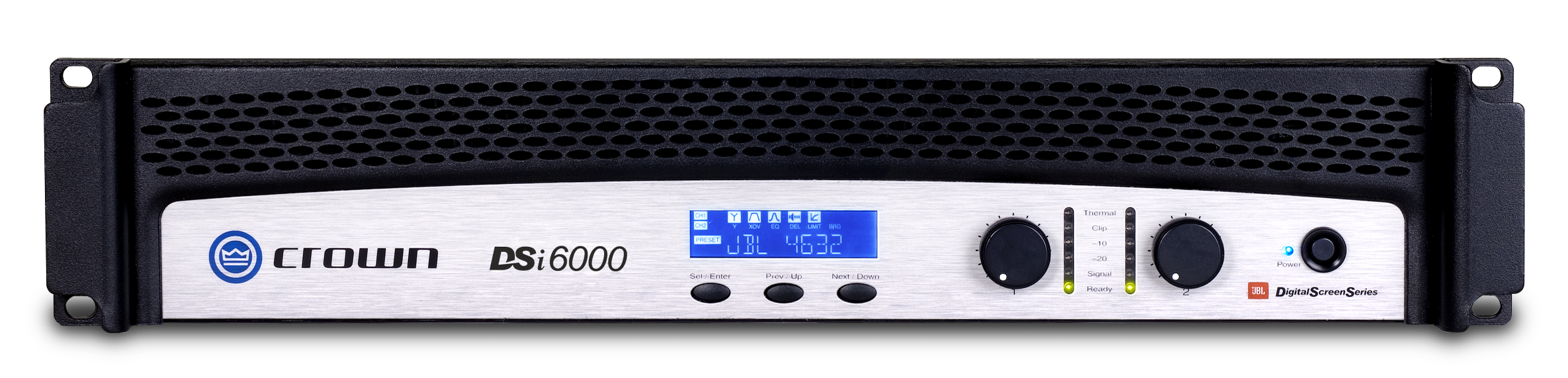 Dsi 6000 Crown Audio Professional Power Amplifiers 15 Volts Output Of Each Speaker 10 Watt With 4 Ohm Impedance