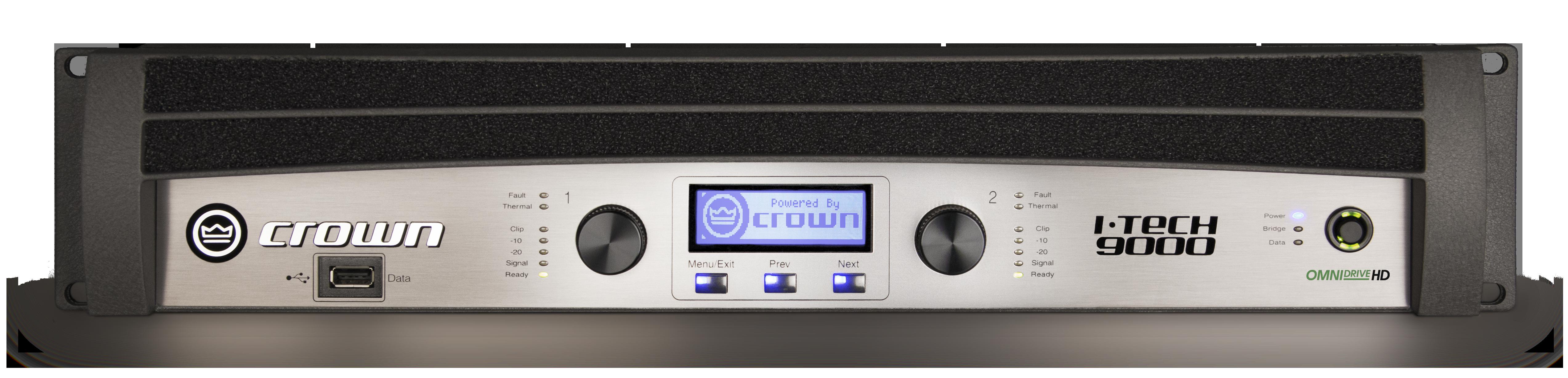 I Tech 9000hd Crown Audio Professional Power Amplifiers Amplifier Gt High Two Channel 3500w 4