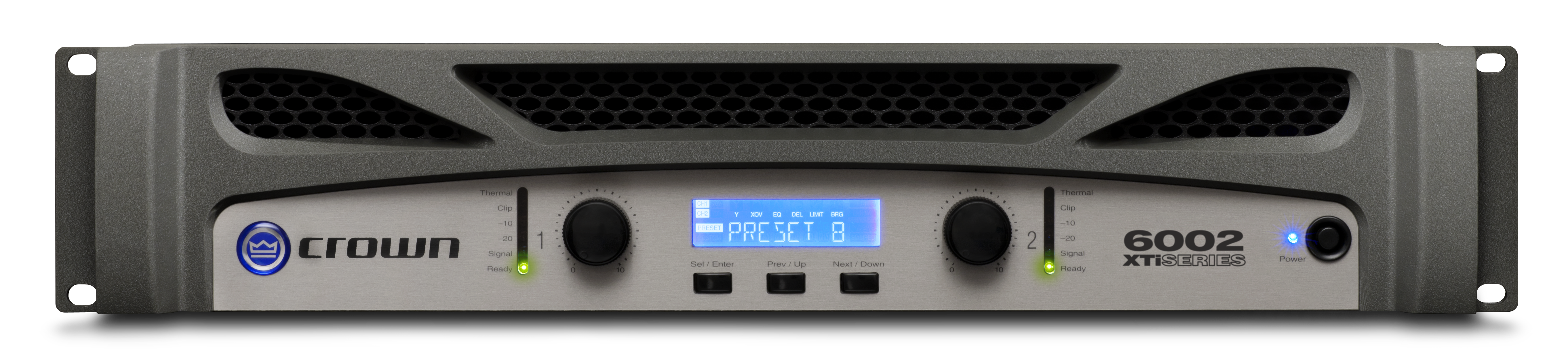 Xti 6002 Crown Audio Professional Power Amplifiers Line High End Preamplifier With Ics Two Channel 2100w 4 Amplifier