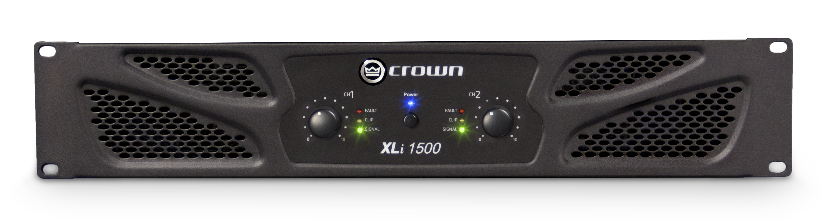 Xli 1500 Crown Audio Professional Power Amplifiers 22 Watt Amplifier Two Channel 450w 4